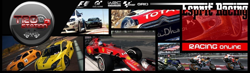 Championnats PS3 : F1 2014 / GT6 / WRC 4 / MOTOGP 14 / GRID AUTOSPORT Forum Index