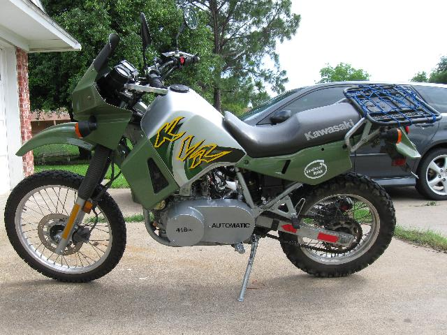 moto kawasaki diesel