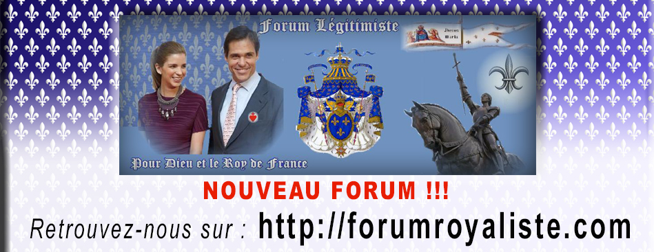 Forum du Royaume de France Index du Forum