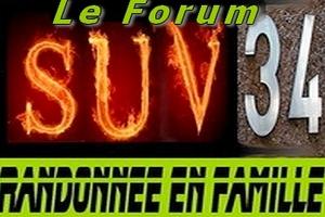 suv-34: randonnée en famille Index du Forum