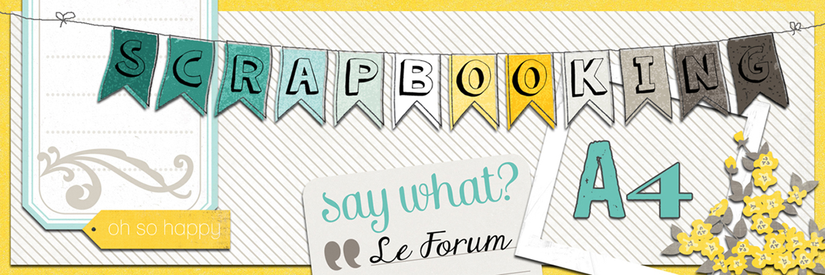 Scrapbooking A4 Index du Forum