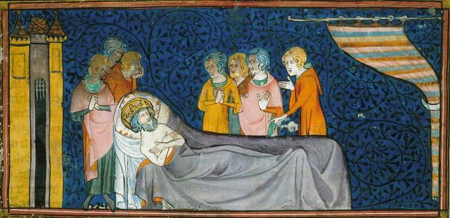 Une petite histoire par jour (La France Pittoresque) - Page 13 Louis9-death1270-54fbde0