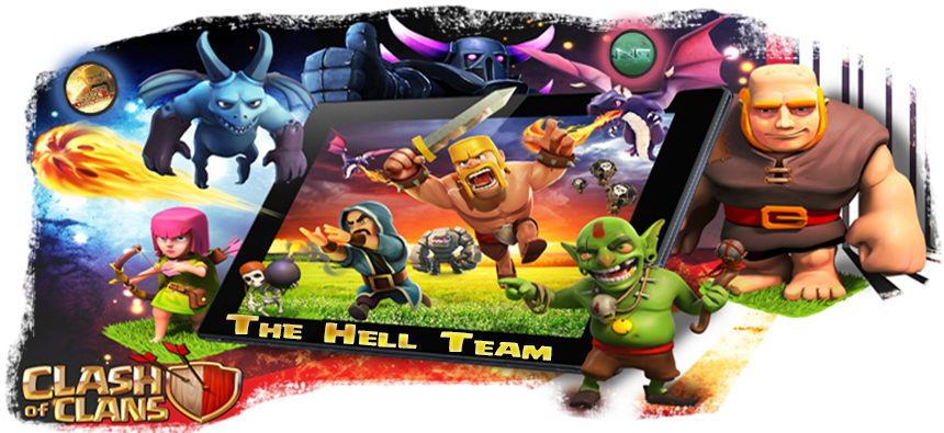 the hell team clash of clans Index du Forum
