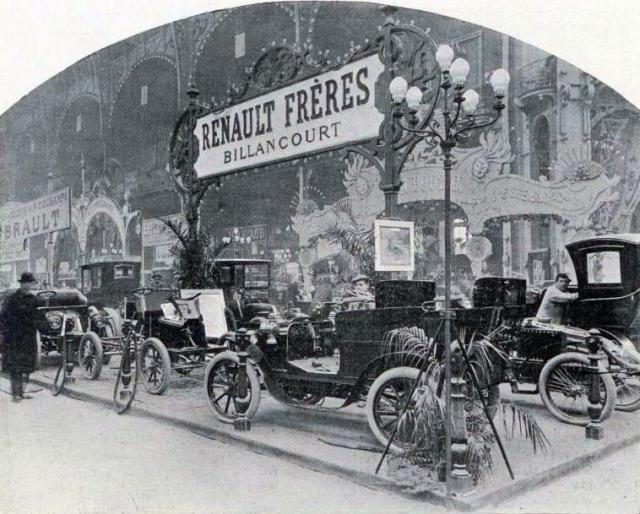 Une petite histoire par jour (La France Pittoresque) - Page 3 Le_stand_renault_..._en_1901-5404bf9