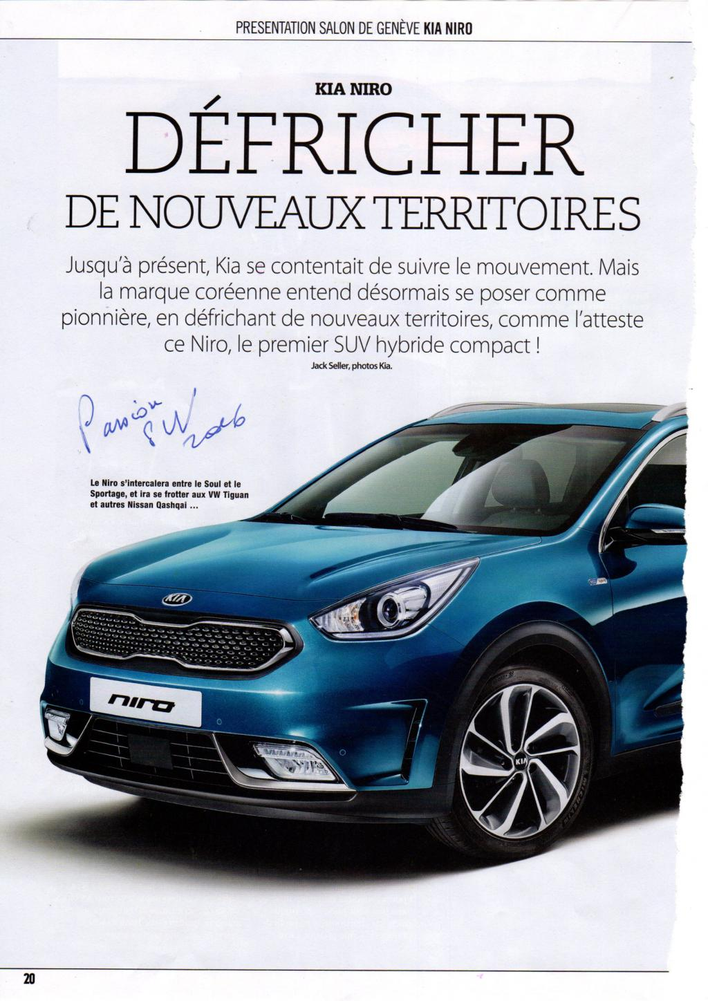 passion suv kia niro un hybride pour d fricher de nouveaux territoires. Black Bedroom Furniture Sets. Home Design Ideas