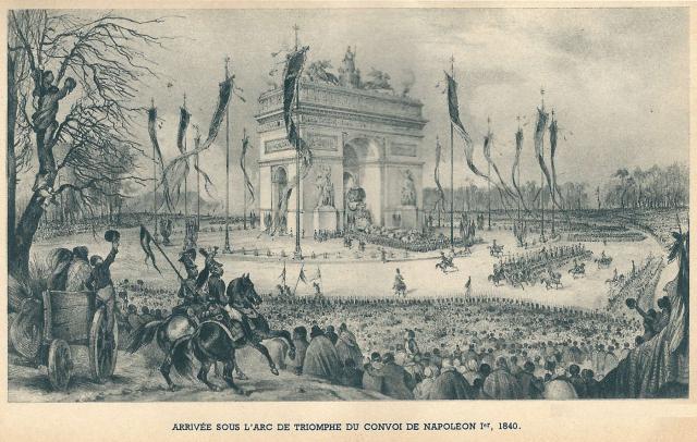 29 juillet 1836 : Inauguration de l'Arc de Triomphe 1400w-566aebf