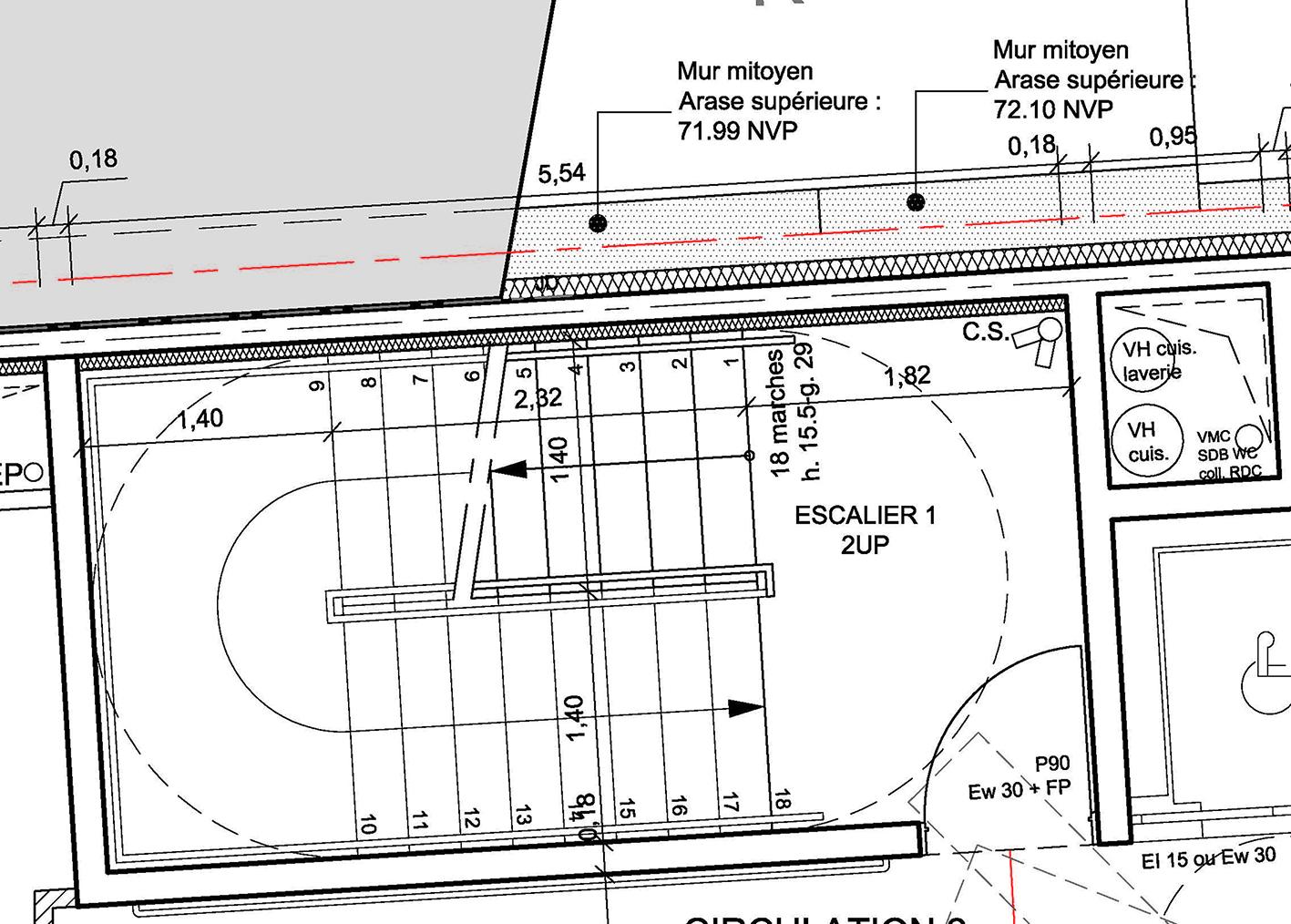 allplan forum escaliers repr sentation en plan. Black Bedroom Furniture Sets. Home Design Ideas