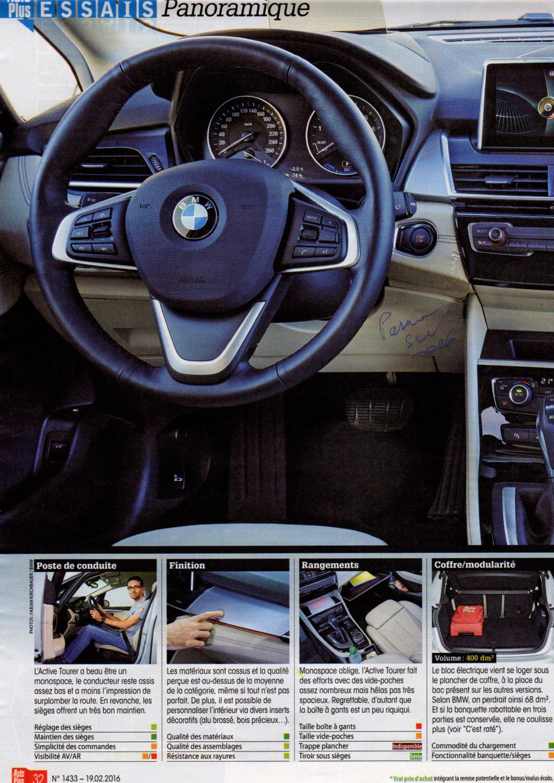 passion suv auto test la bmw s rie 2 active tourer 225 xe luxury hybride rechargeable 4 wd. Black Bedroom Furniture Sets. Home Design Ideas