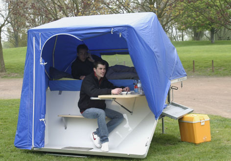 France bivouac et tourisme :: Qui connait les tentes ULH