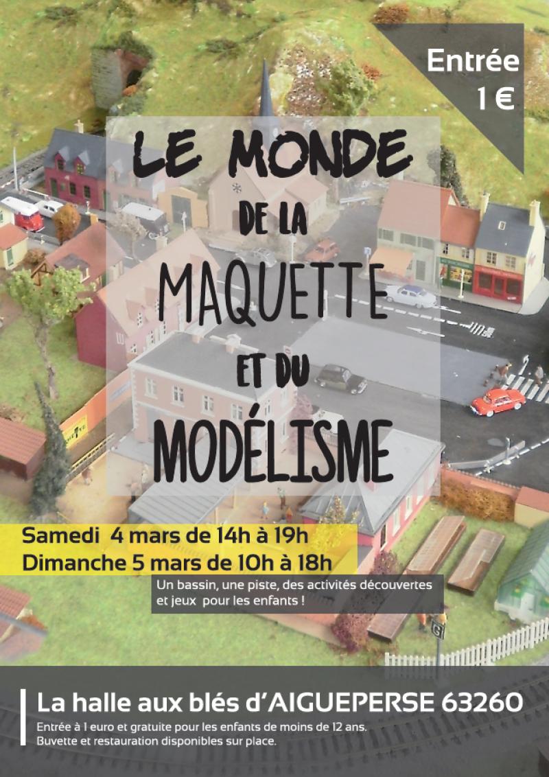 Le monde de la Maquette et Modelisme, Aigueperse 4 et 5 mars Le-monde-de-la-ma...rse-2017-51a70b9