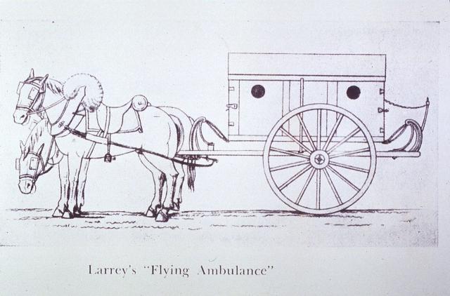 Une petite histoire par jour (La France Pittoresque) - Page 10 Larrey-s_flying_ambulance-54c30eb