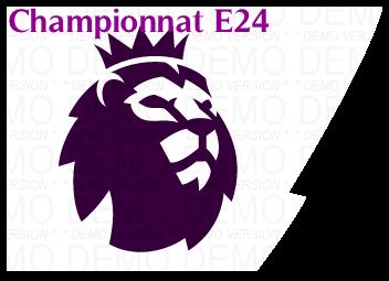 CHAMPIONNAT ANGLAIS E24