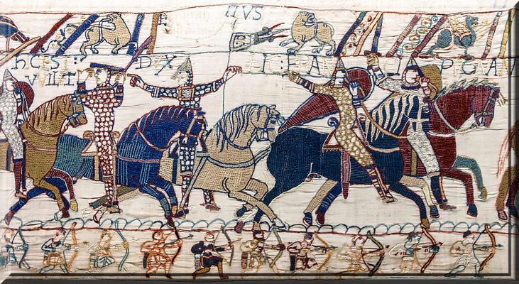 Le royaume de France médiéval :: La bataille d'Hastings 1066.