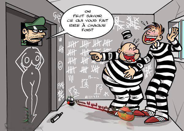 Une journée sans rire est une journée de perdue. - Page 28 Humour-en-prison-5597382