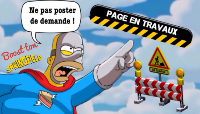 LES SIMPSON SPRINGFIELD Index du Forum