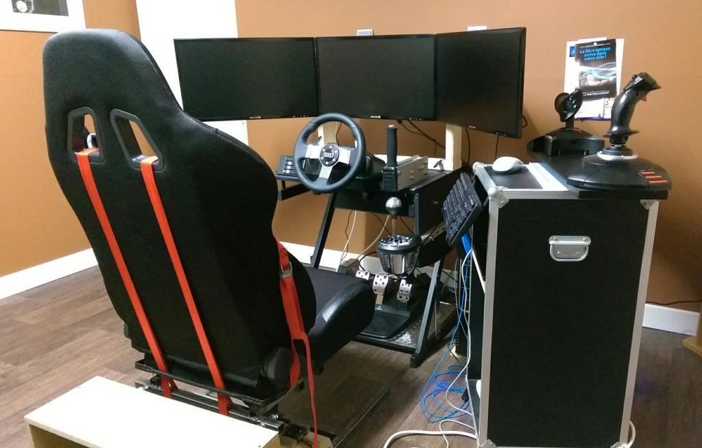 Pcshm playseats cockpits et simulateurs home made :: simulateur