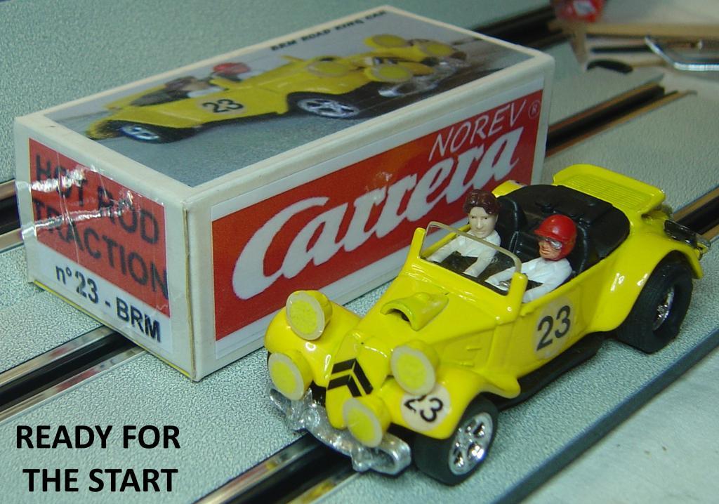 gentlemen drivers brm road king car n 23. Black Bedroom Furniture Sets. Home Design Ideas