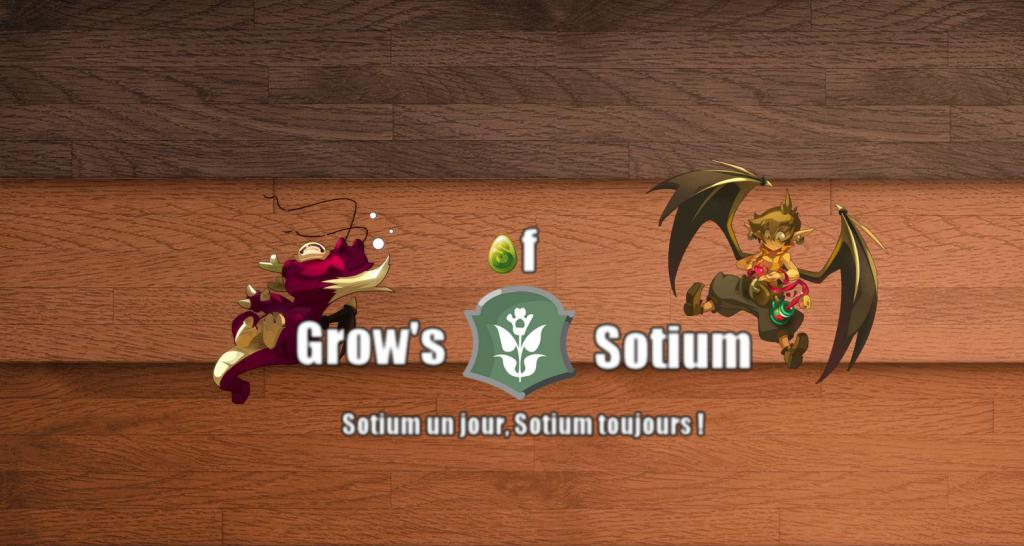 "Forum de la guilde ""Grow's Of Sotium"" Index du Forum"