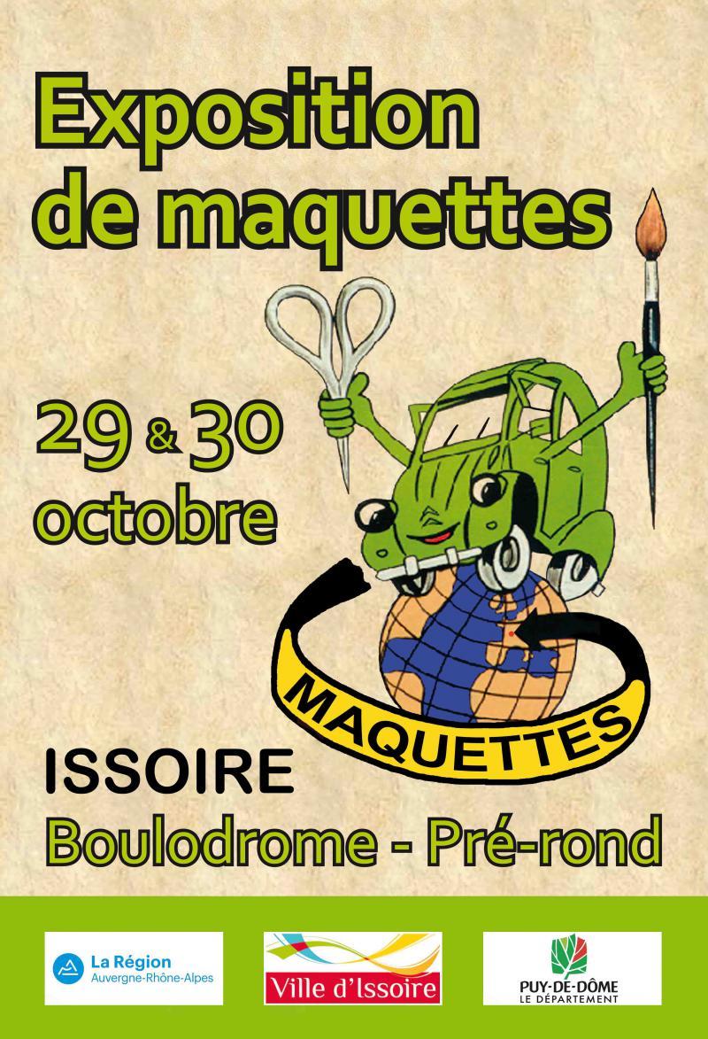 Exposition de Maquettes, Issoire 29 et 30 octobre 2016 Salon-issoire-2016-50a75b0