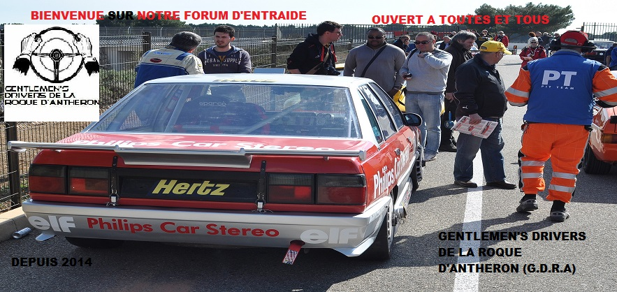 ASSOCIATION DES GENTLEMEN'S DRIVERS DE LA ROQUE D'ANTHERON Index du Forum