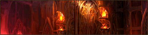 Imposante salle de forme rectangulaire abritant les sessions du Concile des Sangs, c'est le coeur du pouvoir du Màr Tàralöm. Ici se jouent toutes les décisions concernant l'avenir du Kaerl. La pièce est aménagée de façon à ce que les dragons et les bipèdes y siègent ensemble.