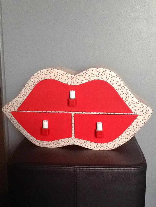 Croisee creative boite bouche pour bijoux ou maquillage - Boite pour ranger le maquillage ...