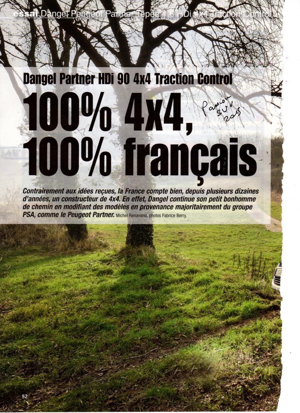 passion suv 100 fran ais 100 4x4 partner hdi 90 cvs revu par dangel. Black Bedroom Furniture Sets. Home Design Ideas