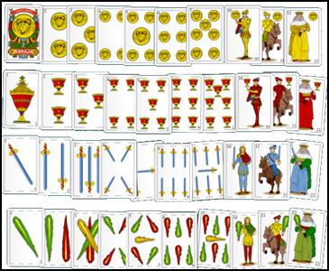 Jeux De Carte Espagne.Le Petit Monde De Brunehaut 1 Histoire Des Cartes A