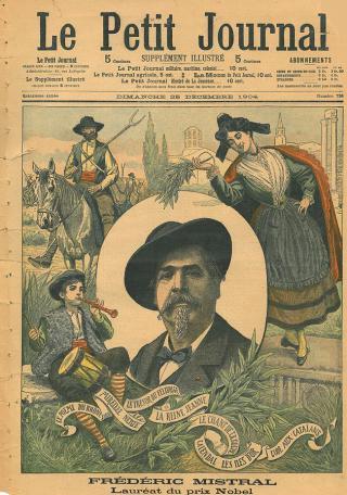 Une petite histoire par jour (La France Pittoresque) - Page 18 Fr-d-ric_mistral_...nal_1904-55f1543