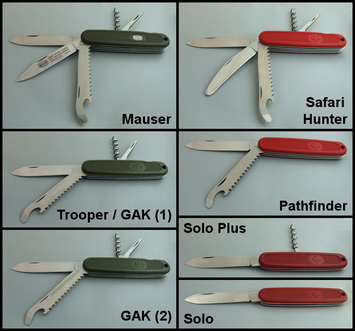 Couteaux Des Gaules Et D Ailleurs Victorinox Mauser Ou