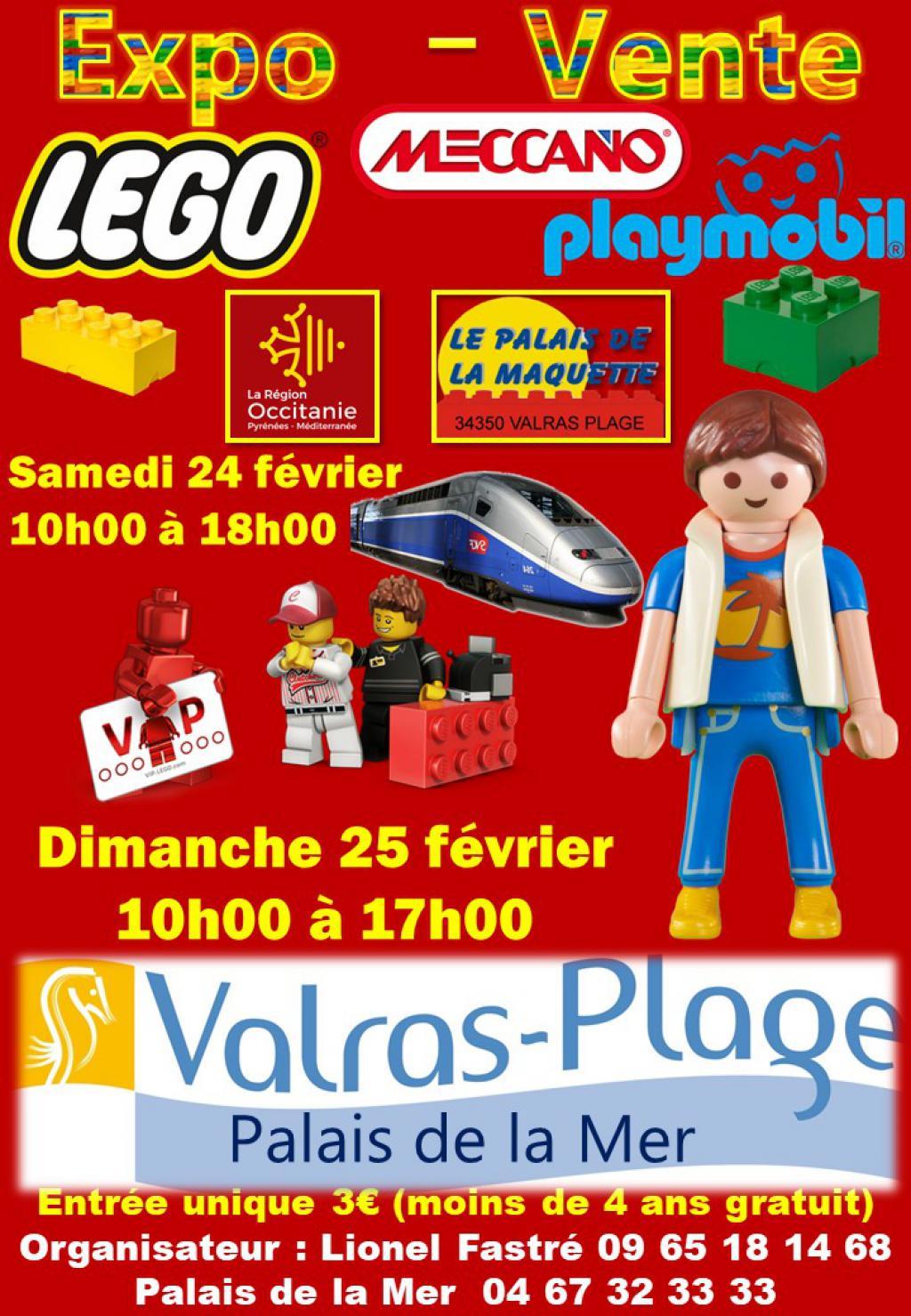 Salon de Modelisme Expo 24 et 25 fevrier Valras Plage 2018-affiche-lego...-02-2018-53d9bef