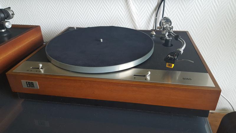 couvre plateau en cuir pour platine vinyle