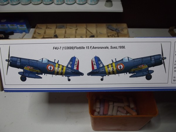 Corsair  F4U-7 HobbyBoss - Échelle 1/48 Dscf6250-4981bed