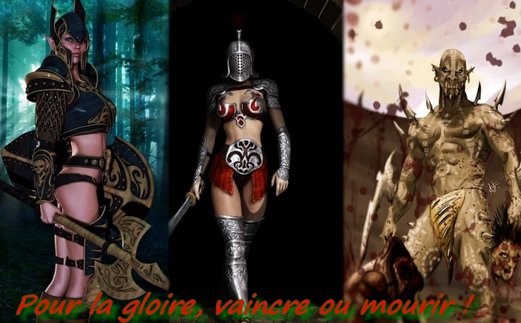 la cohorte gladiatrice Index du Forum