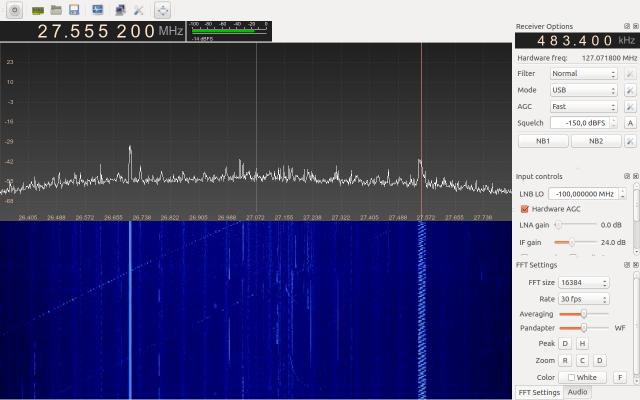 Dx Groupe Amateur Radio Libre Dpt 40 (Landes) :: GnuRadio GQRX Linux