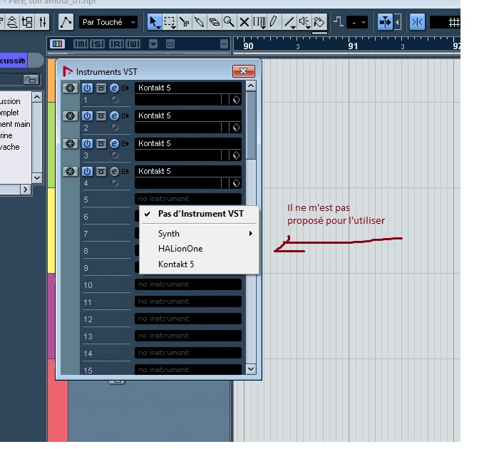 how to add vst instrument in cubase ai
