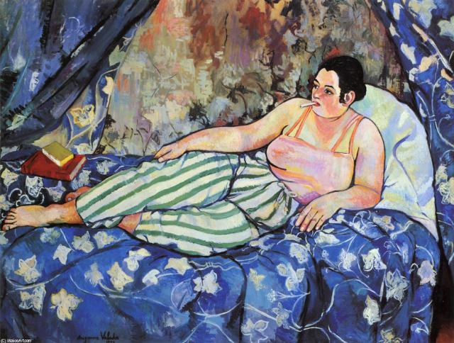 Une petite histoire par jour (La France Pittoresque) - Page 15 Suzanne-valadon-t...lue-room-551feae