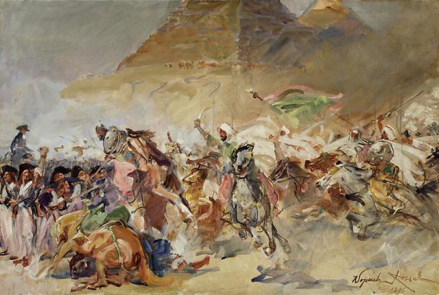 Une petite histoire par jour (La France Pittoresque) - Page 11 Battle_of_the_pyramids_1798-54d33b7