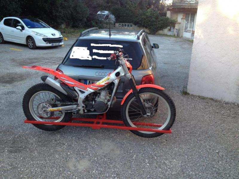 Forum trial passion porte moto pour voiture for Porte u moto