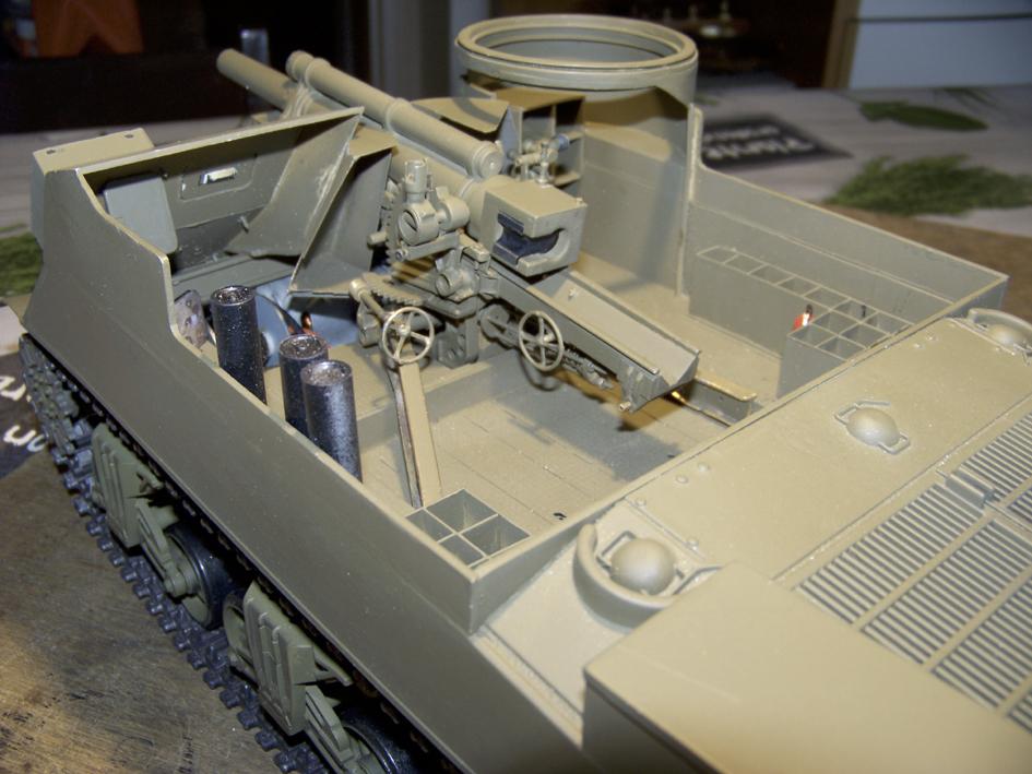 """M7 B1 105 Howitzer Gun Motor Carriage """"Priest"""" - Heng Long - 1/16e - Page 2 103_4055-4e12254"""