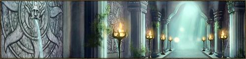 Vaste salle circulaire, au sol recouvert d'un fin sable blanc, où les Reines Argentées couvent leur oeufs, et où se déroule également la Cérémonie de l'Empreinte des Aspirants de Màr Luimë. Au plafond, un dôme de verre ouvragé laisse passer la lumière du jour.
