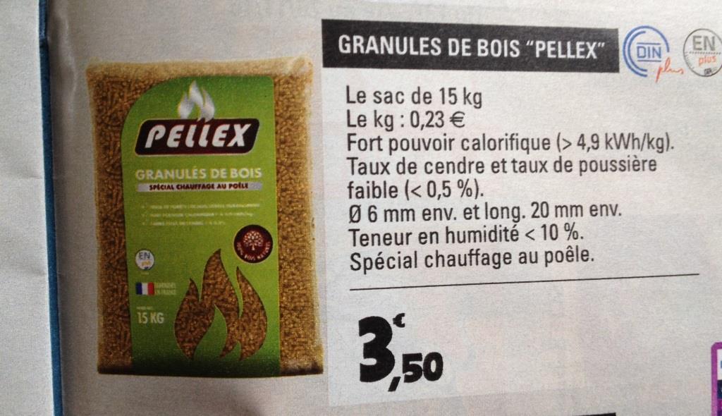 Le Forum Poêle à Pellets Pellets Pellex