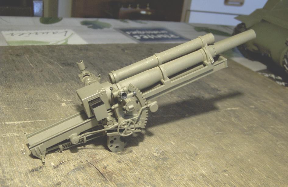 "M7 B1 105 Howitzer Gun Motor Carriage ""Priest"" - Heng Long - 1/16e - Page 2 Elevation-system-5-4e0da70"