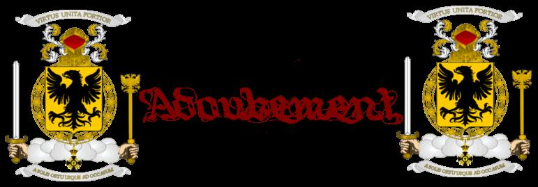Annonces et En-tête Adoubement-496b6ac