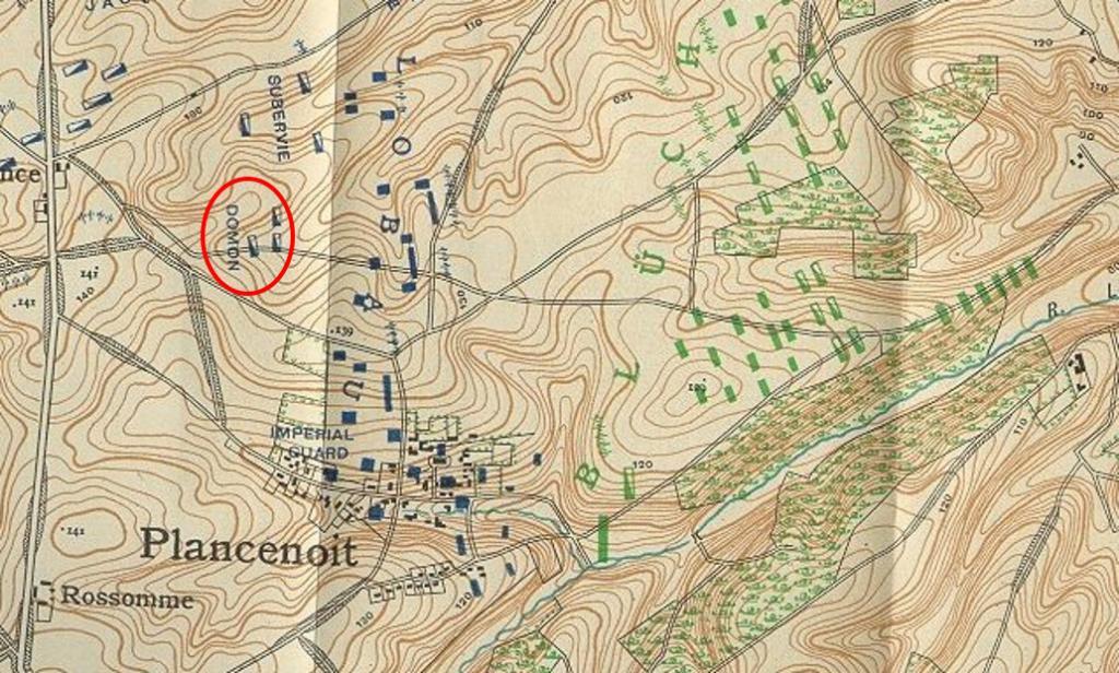 Forum du 12 me chasseurs le 12e a waterloo for Domon waterloo