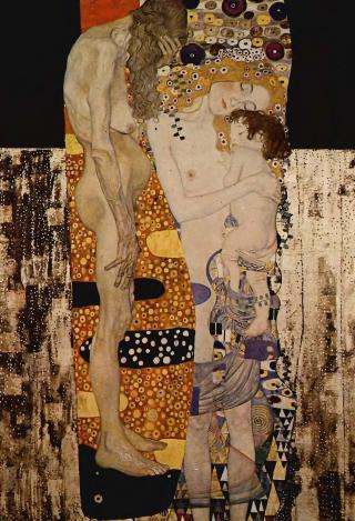 Une petite histoire par jour (La France Pittoresque) - Page 10 Klimt-trois-ages-54cb78b