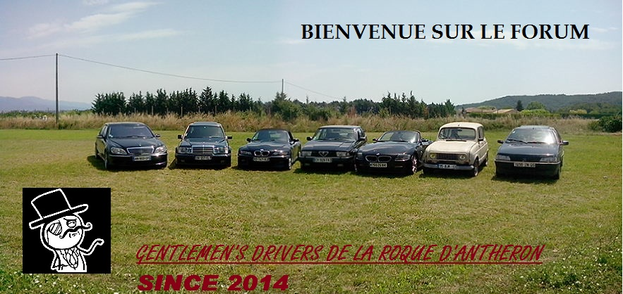 ASSOCIATION DES GENTLEMEN'S DRIVERS DE LA ROQUE D'ANTHERON Forum Index