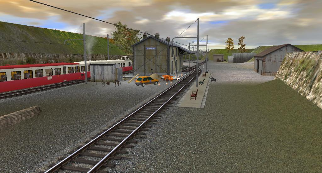 Trainz & Compagnie :: une petite ligne