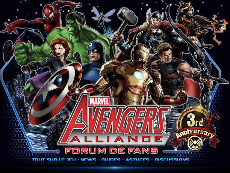 Marvel Avengers Alliance Forum Index