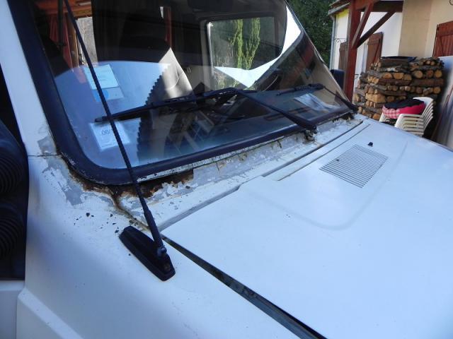 Mastic Pare Brise Camping Car